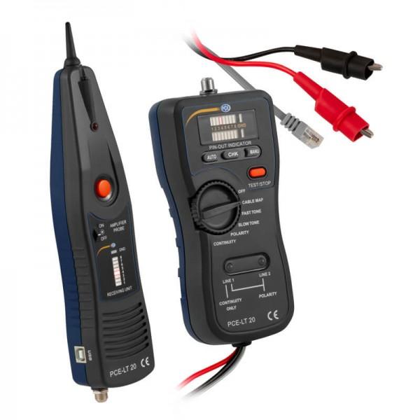 PCE-LT 20 LAN тестер, мультиметр