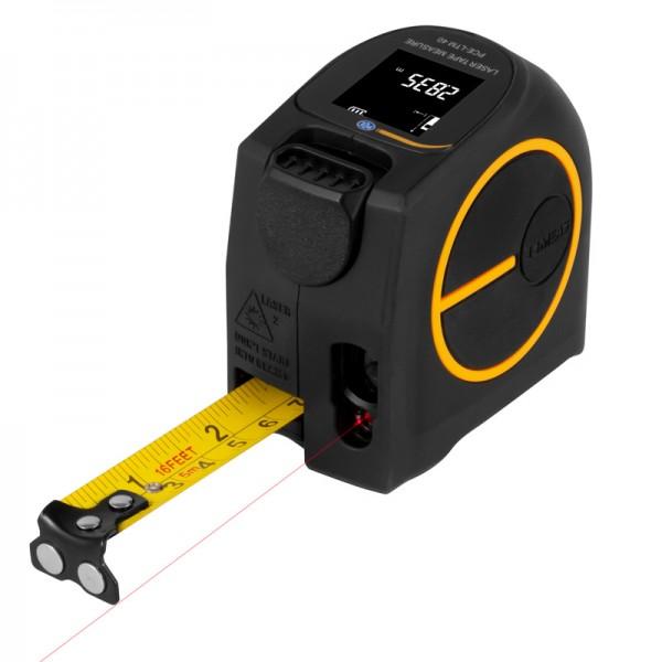PCE-LTM 40 рулетка и лазерный дальномер