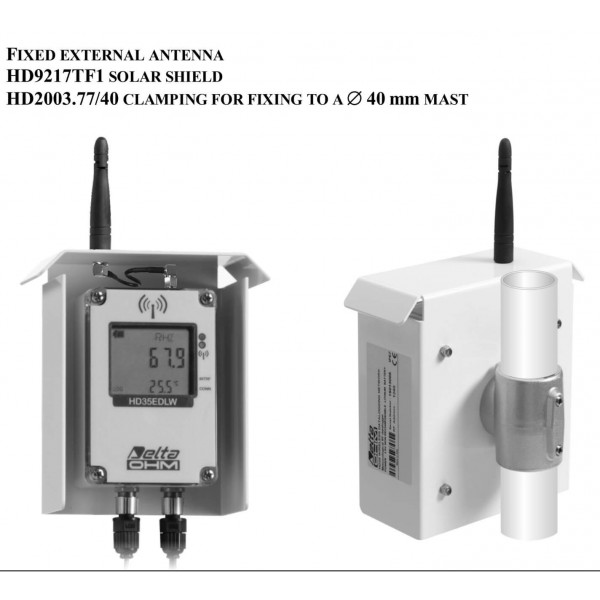 Delta OHM HD35EDW1NB...FTCV водонепроницаемый WiFi регистратор температуры, влажности, PAR и CO2