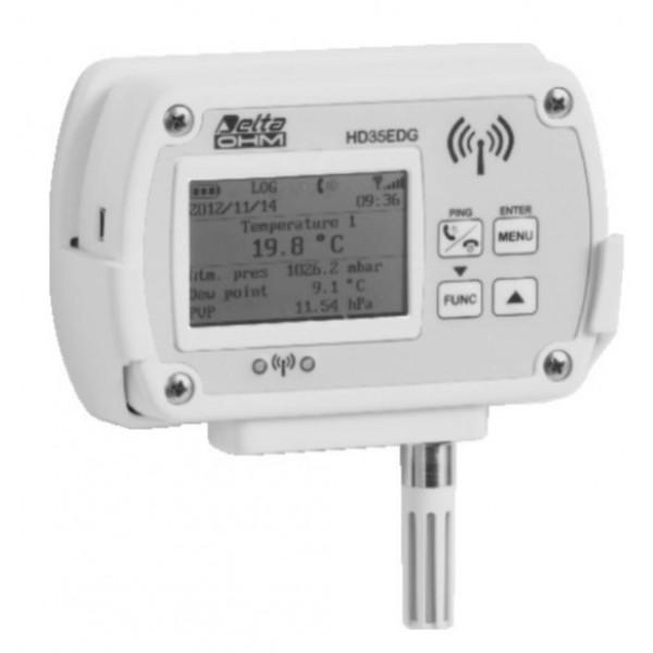 Delta OHM HD35ED14bNTVI WiFi регистратор температуры, влажности и атмосферного давления со сменным датчиком