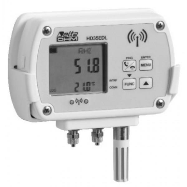 Delta OHM HD35ED1N4r5TV WiFi регистратор температуры, влажности и дифференциального давления