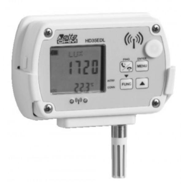 Delta OHM HD35ED1NIUTV WiFi регистратор температуры, влажности, освещенности и облученности