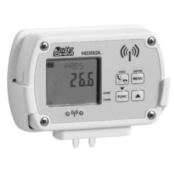 Delta OHM HD35ED4r... WiFi регистратор дифференциального давления
