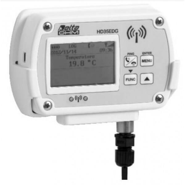 Delta OHM HD35ED7P/1TC одноканальный WiFi регистратор температуры для выносных датчиков (Pt1000)