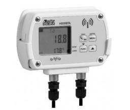 Delta OHM HD35ED1N/2TC двухканальный WiFi регистратор температуры и влажности для выносных датчиков (NTC 10KΩ)