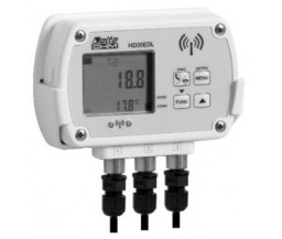 Delta OHM HD35EDN/3TC трехканальный WiFi регистратор температуры для выносных датчиков (NTC 10KΩ)