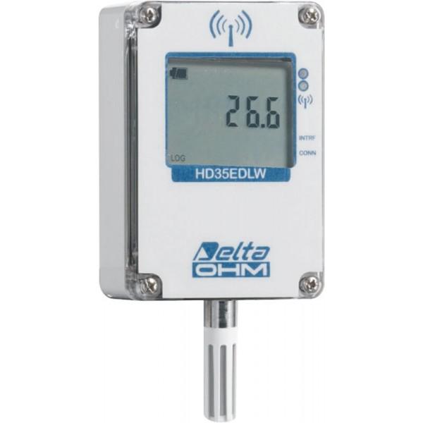 Delta OHM HD35EDW1TVI водонепроницаемый WiFi регистратор влажности со встроенным датчиком