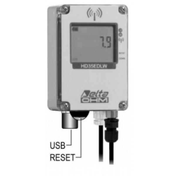 Delta OHM HD35EDWPTC-ALM водонепроницаемый, WiFi регистратор осадков с выходом для сигнализации