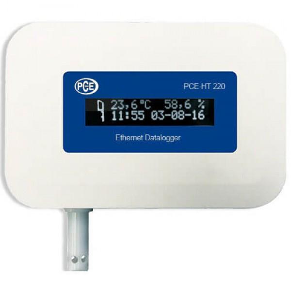PCE-HT420 регистратор температуры и влажности c сетевым интерфейсом
