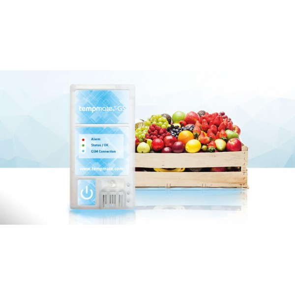 tempmate.®-GS регистратор температуры/влажности/освещенности/вибрации