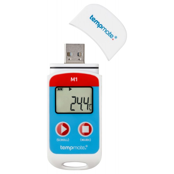 tempmate-M1 регистратор температуры