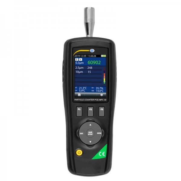 PCE-MPC 30 мобильный счетчик частиц/термогигрометр c функцией измерения формальдегида