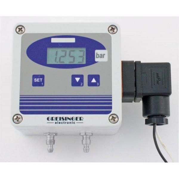 Greisinger GMUD-MP-S-MR дифманометр для не агрессивных газов (область давления >25 mbar)