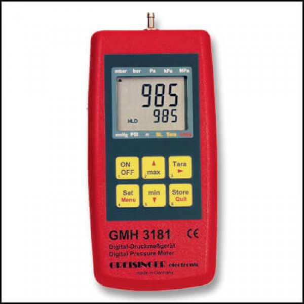 Greisinger GMH 3181-12 манометр-регистратор с взрывозащитой (опция)