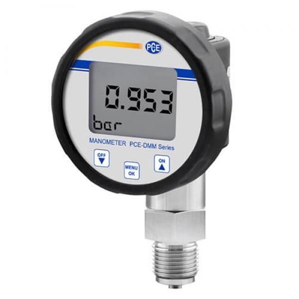 PCE-DMM50-M01 манометр абсолютного давления для кислорода, жидкостей, топлива, масел