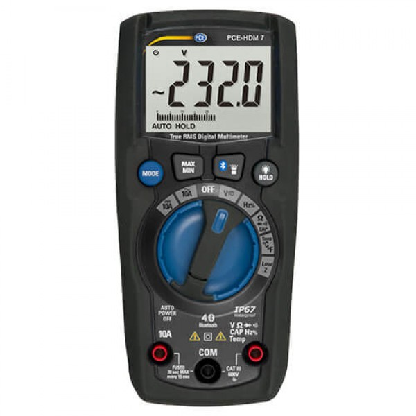 PCE-HDM 7 цифровой мультиметр