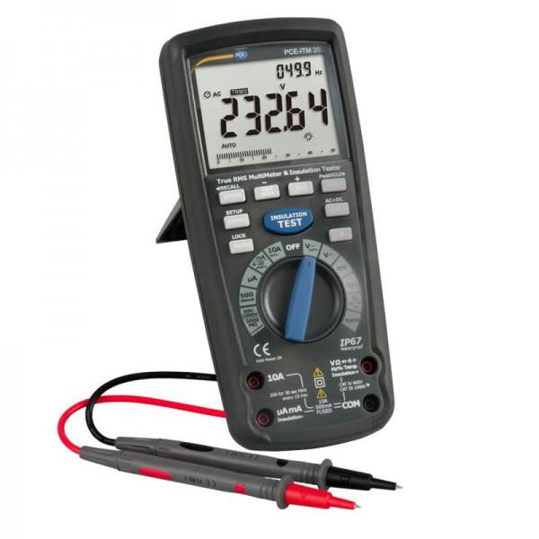 PCE-ITM 20 профессиональный мультиметр (TRMS)