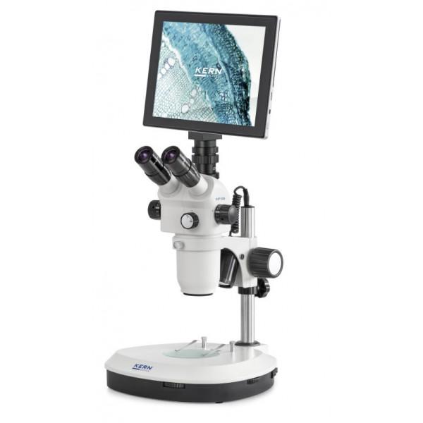 KERN OZP-558T241 высококачественный стереомикроскоп для профессиональных пользователей (камера USB 2.0 15 - 30 кадр/сек + WLAN + HDMI)