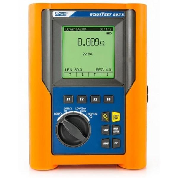 HT- EQUITEST 5071 многофункциональный тестер непрерывности с испытательным током 200 мА и 10 А