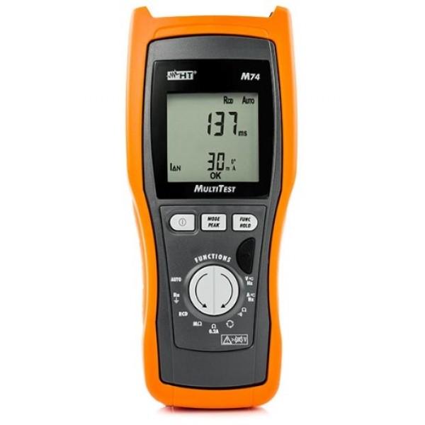 HT-M74 устройство для испытаний безопасности в соответствии с CEI 64-8