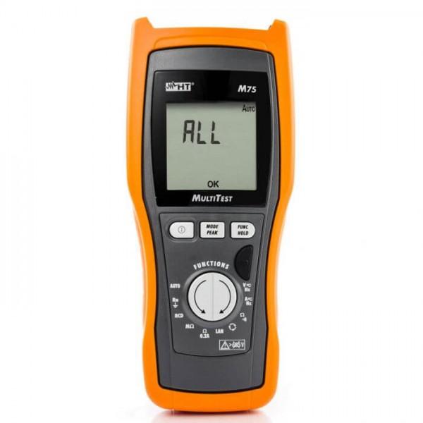 HT-M75 устройство для испытаний безопасности в соответствии с IEC / EN61557-1