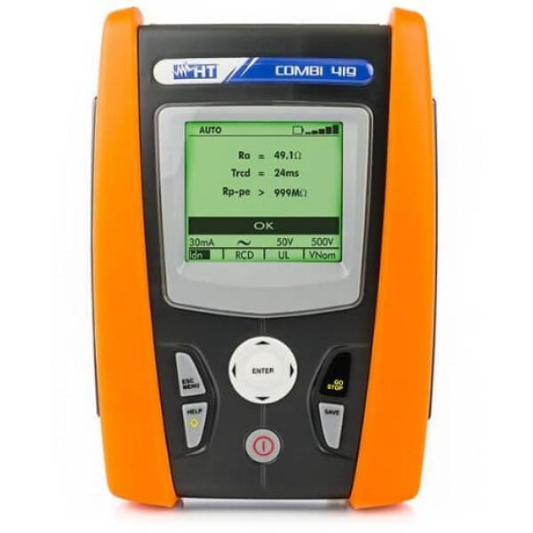 HT-COMBI 419 тестер оборудования для проверки электробезопасности бытовых и промышленных систем