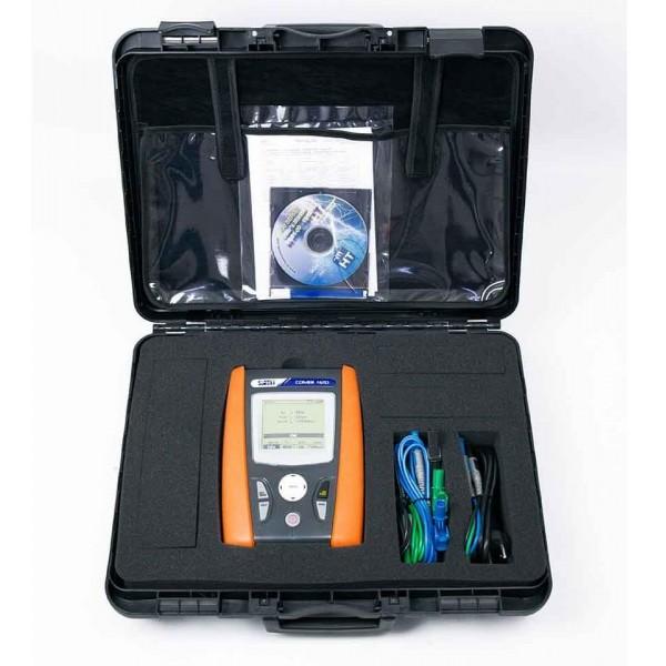 HT-COMBI 420 тестер оборудования с однофазным анализатором электроэнергии