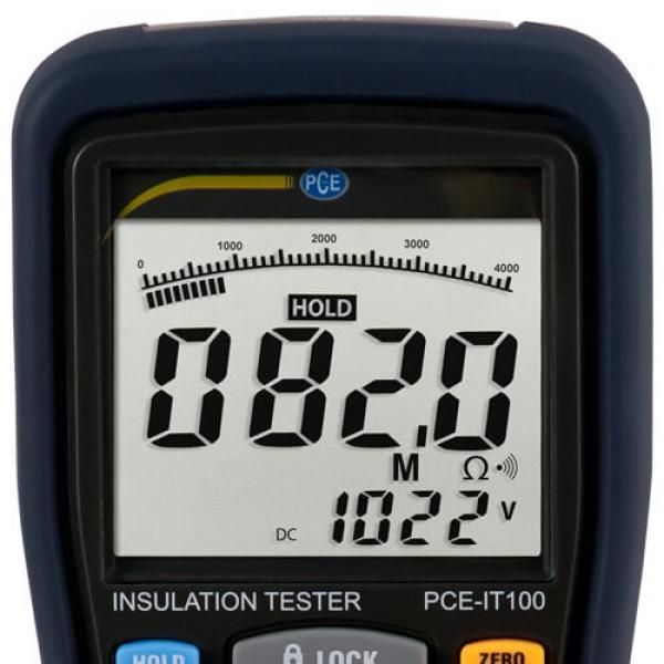 PCE-IT100 измеритель сопротивления изоляции
