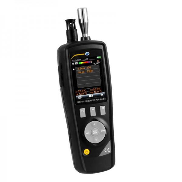 PCE-PCO 2 мобильный счетчик частиц/термогигрометр c функцией измерения концентрации частиц
