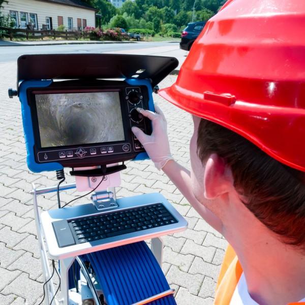 PCE-PIC 120 инспекционная камера для обследования труб