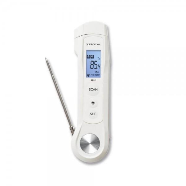 Trotec BP2F термометр со встроенным пирометром