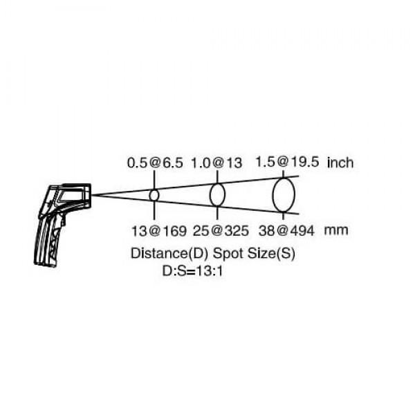 PCE-660 пирометр промышленный