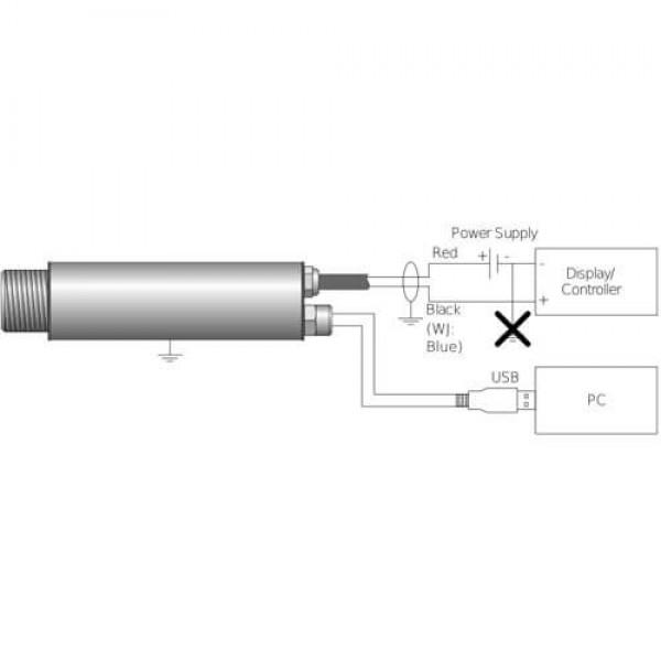 PCE-IR 52 пирометр c выходом 4...20 мА и интерфейсом USB
