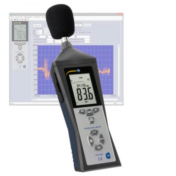 PCE-322 ALEQ шумомер с функцией регистрации и расчетом LEQ