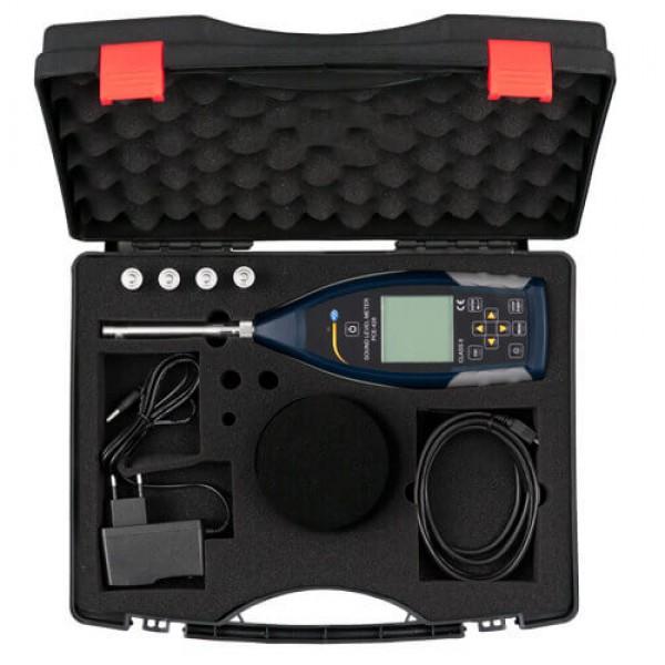 PCE-428 профессиональный шумомер с октавной полосой 1/1 или 1/3 с сертификатом ISO (класс 2)