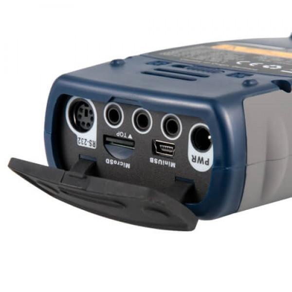 PCE-432 профессиональный шумомер с октавной полосой 1/1 или 1/3 с сертификатом ISO (класс 1) и GPS