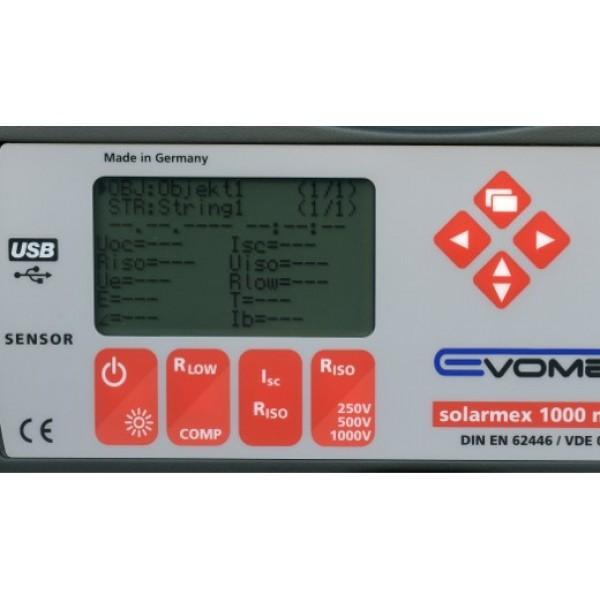 EVOMEX Solarmex 1000 соляриметр для тестирования солнечных панелей