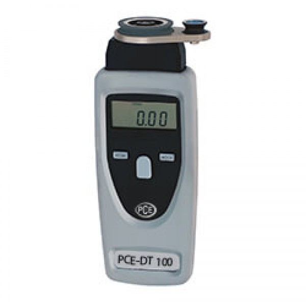 PCE-DT100 тахометр для нитей, (стекло-) волокна и проводов