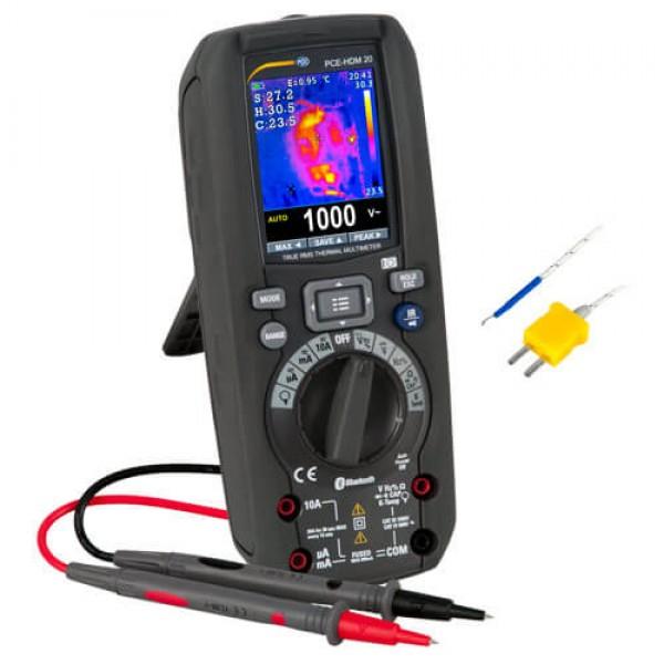 PCE-HDM 20 мультиметр + тепловизор