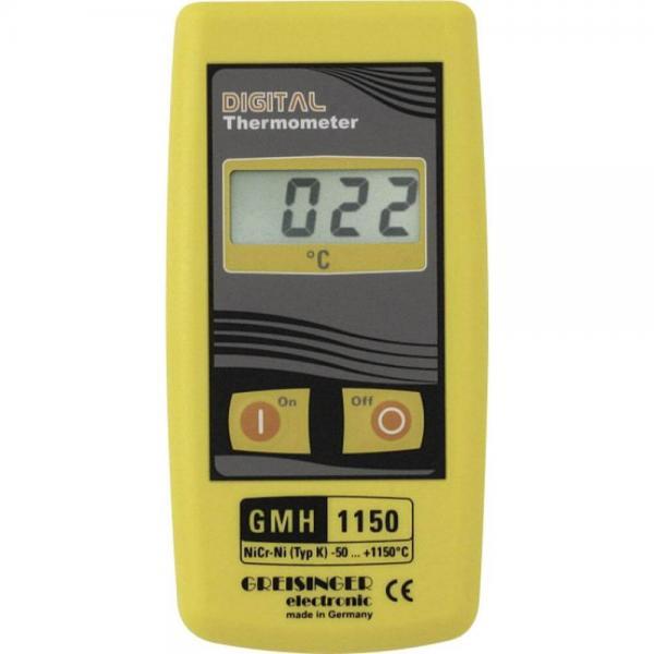 Greisinger GMH 1150 термометр с выходом для внешнего блока питания