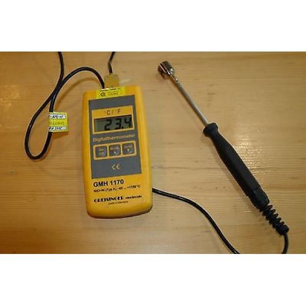 Greisinger GMH 1170 термометр с дополнительными функциями и выходом для внешнего блока питания