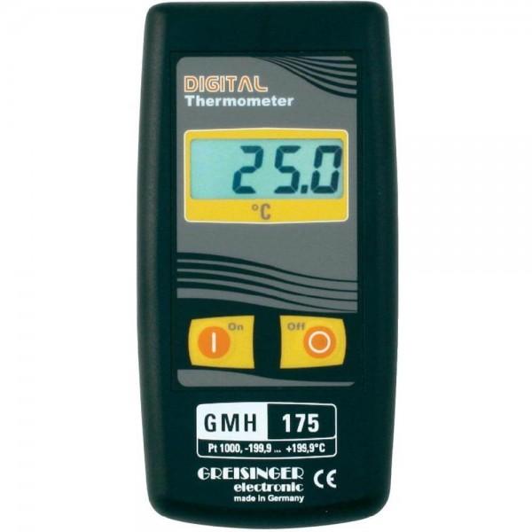 Greisinger GMH 175 высокоточный термометр с выходом для внешнего блока питания