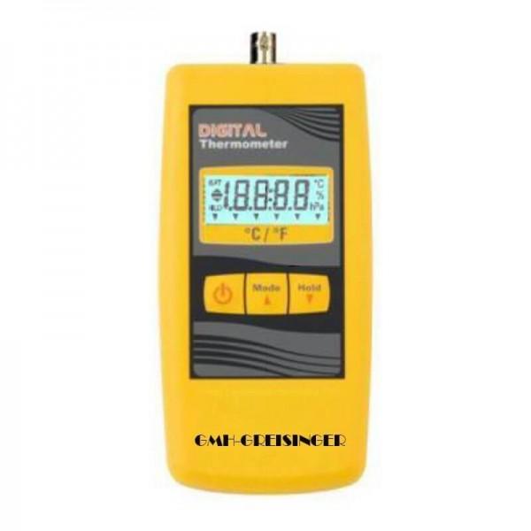 Greisinger GMH 285 профессиональный, высокоточный термометр с выходом для внешнего блока питания