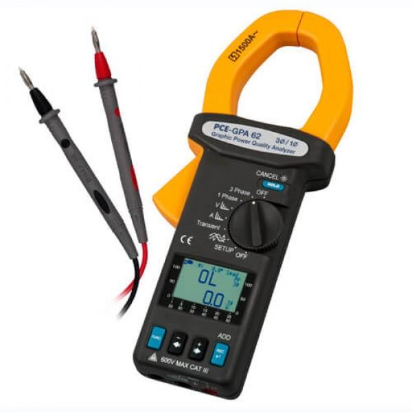 PCE-GPA 62 анализатор качества электроэнергии с функцией записи