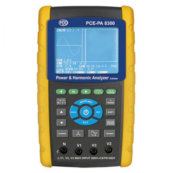 PCE-PA 8300 анализатор качества электроэнергии с функцией записи