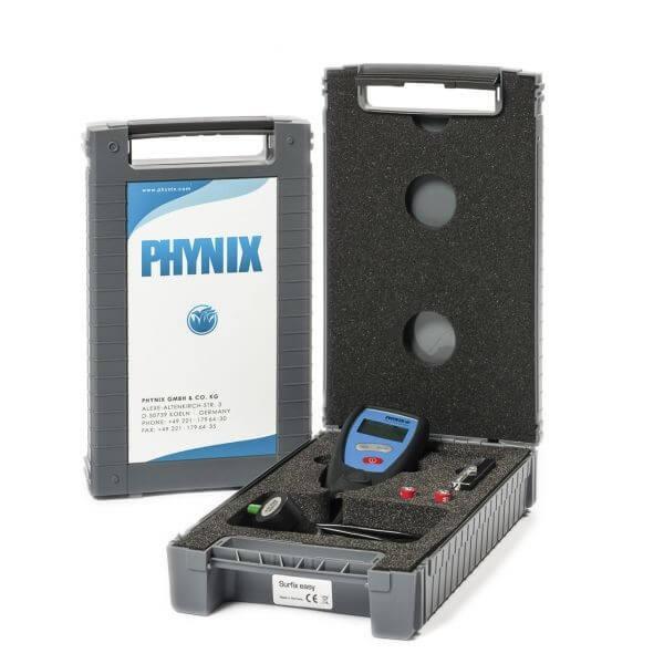 Phynix Surfix® easy X E-FN толщиномер с выносным датчиком для черного/цветного металла