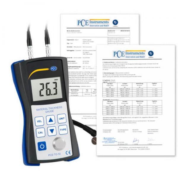 PCE-TG 50 толщиномер цельных материалов
