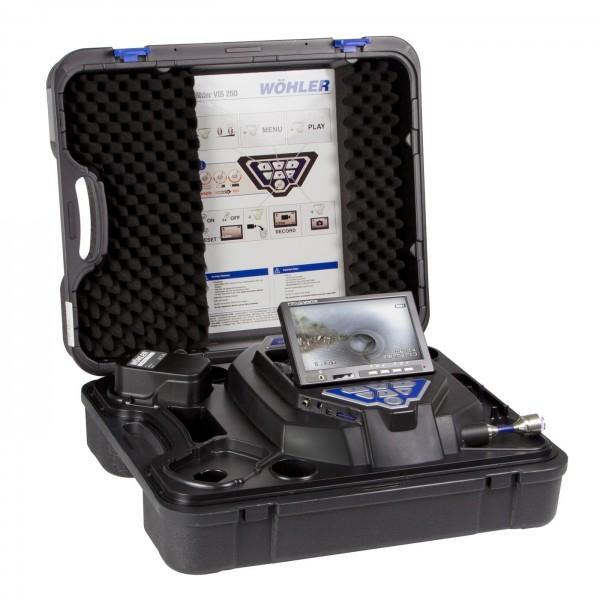 Wöhler VIS 200 видеоэндоскоп для диагностики труб и дымоходов с кабелем 30 м