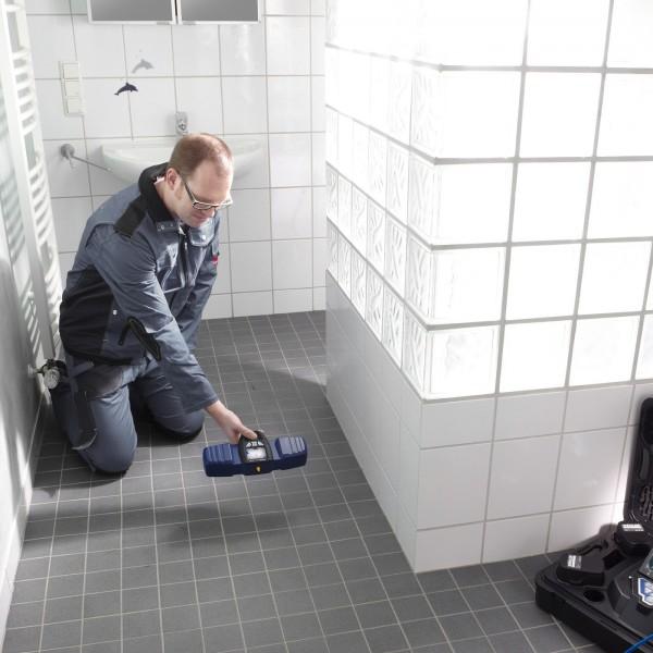 Wöhler VIS 300 инспекционная камера для диагностики труб и дымоходов с кабелем 20 м