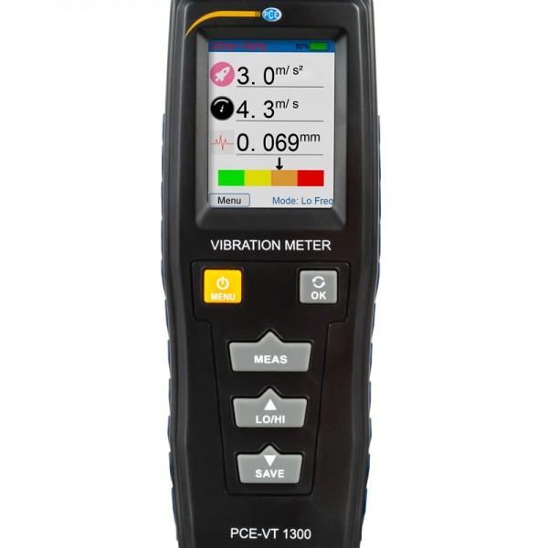 PCE-VT1300 портативный виброметр